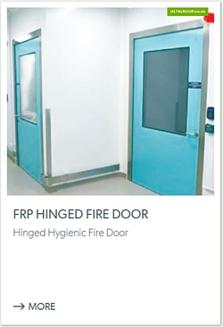 FRP Hinged Fire Door