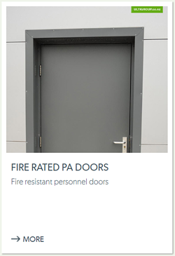 Fire Rated PA Doors