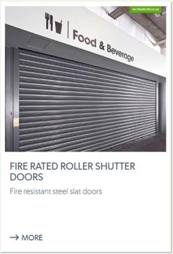 Fire Rated Roller Shutter