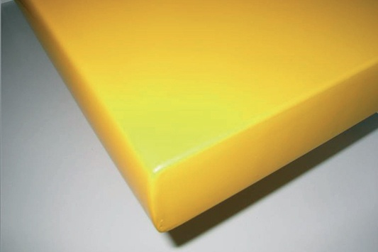 This seamless door panel offers flawless hygiene and 240 minutes of fire resistance.