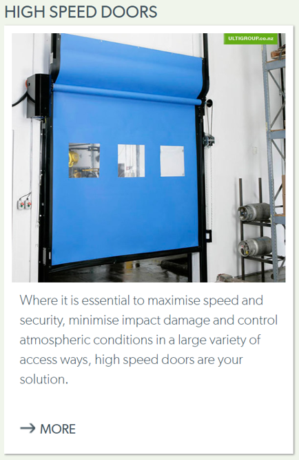 High Speed Doors-1