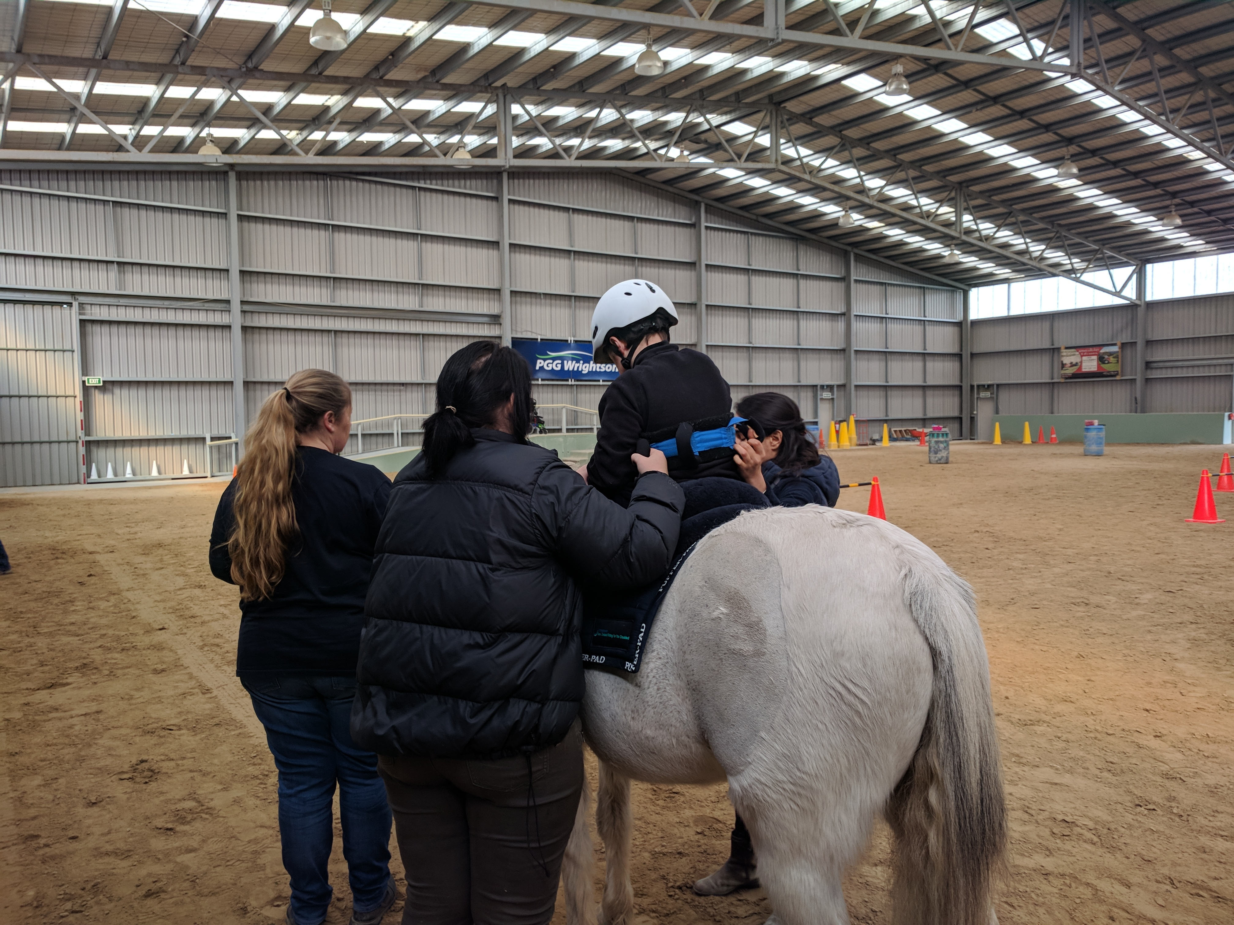 Riding for the Disabled: Claudia's Charity Day
