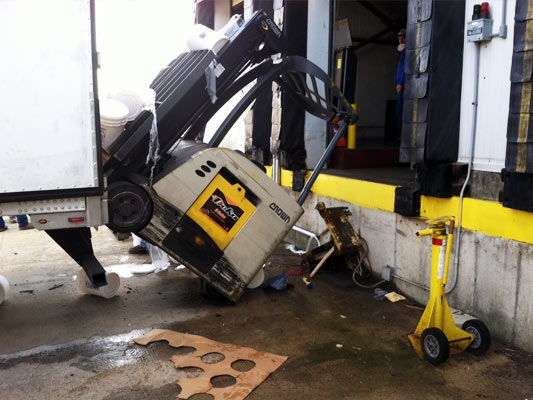 7 Dock Loading Hazards