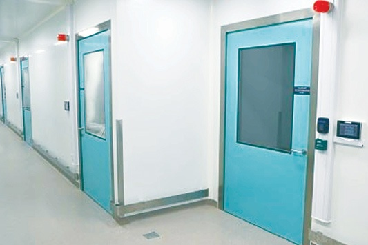 The all new GRP Hygiene Hinged Fire Doors