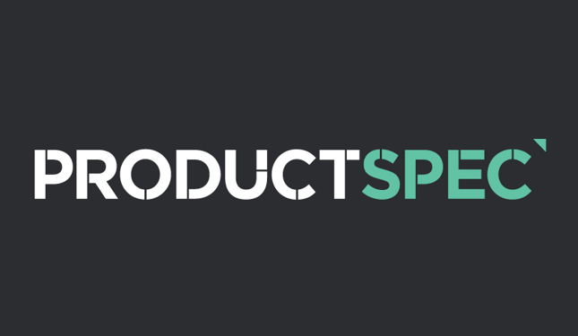 We are on ProductSpec!