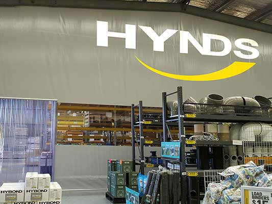 Hynds Industrial Curtain Wall